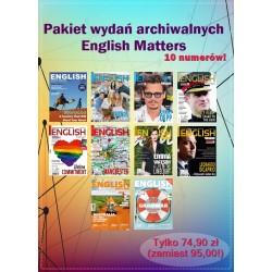 Promocyjny pakiet English Matters