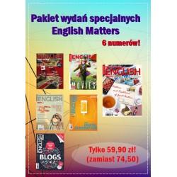 Pakiet wydań specjalnych English Matters