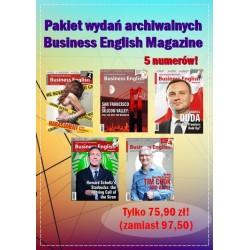 Promocyjny pakiet Business English Magazine