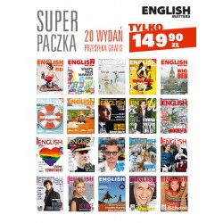 Super Paczka English Matters!