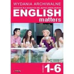 Wydania archiwalne English Matters 1-6 (płyta CD)