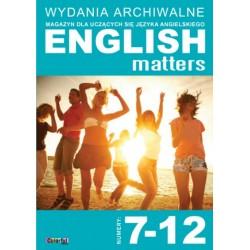 Wydania archiwalne English Matters 7-12 (płyta CD)