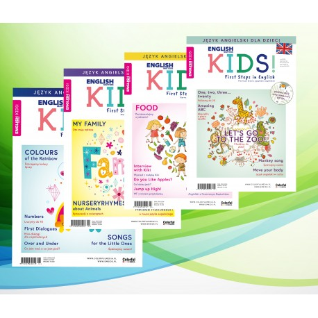 Promocyjny zestaw English Matters KIDS