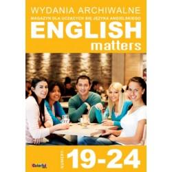 Wydania archiwalne English Matters 19-24 (płyta CD)