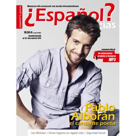 ¿Español? Sí, gracias 20/2013