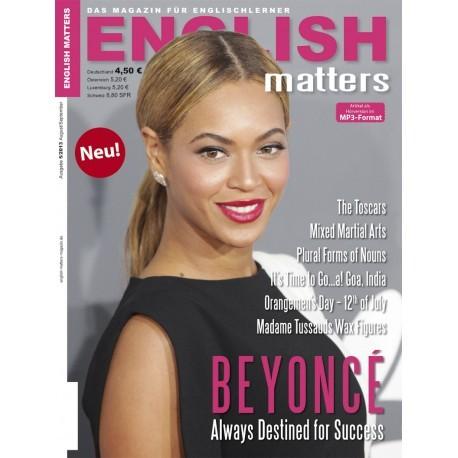English Matters 5/13