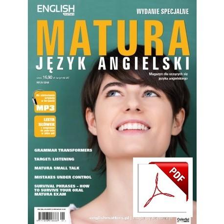 English Matters Matura