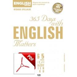 English Matters 365 dni Wersja elektroniczna