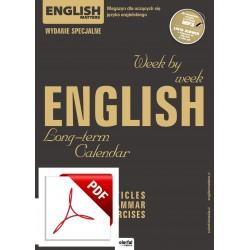 English Long-term Calendar (kalendarz) Wersja elektroniczna