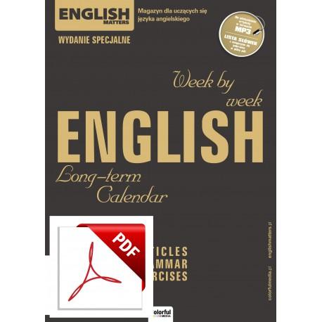English Matters Calendar