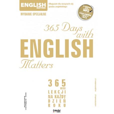 365 Days with English Matters (kalendarz) EMS36
