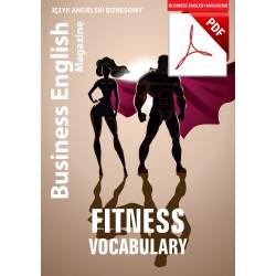 Fitness Vocabulary