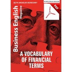 A Vocabulary Of Financial Terms