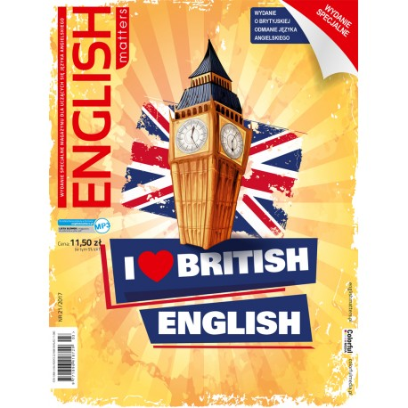 English Matters I love British English