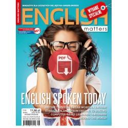English Matters English spoken today 10 Wersja elektroniczna