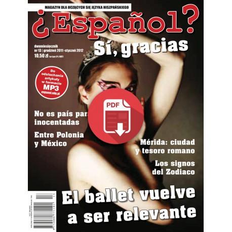 ¿Español? Sí, gracias 13/2012