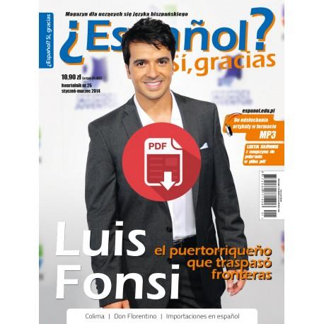 ¿Español? Sí, gracias 25/2014