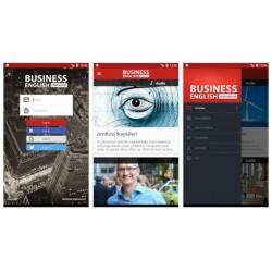 Aplikacja mobilna Business English Corporation