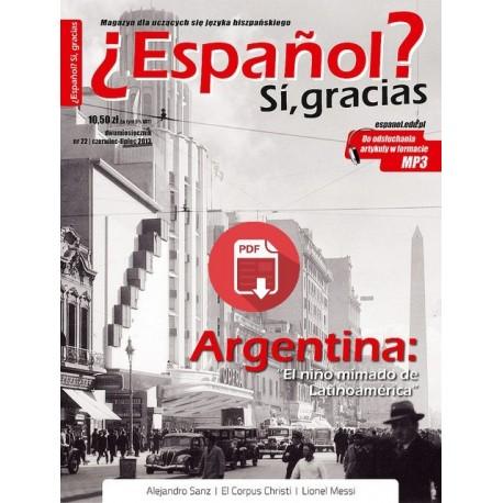 ¿Español? Sí, gracias 22/2013