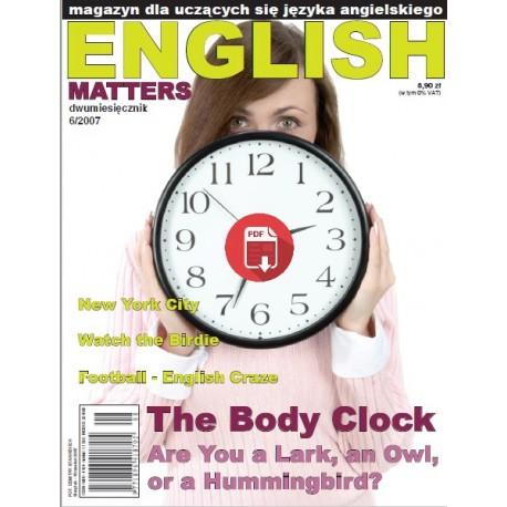 English Matters 6/2007 Wersja Elektroniczna