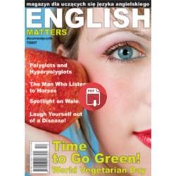 English Matters 7/2007 Wersja Elektroniczna