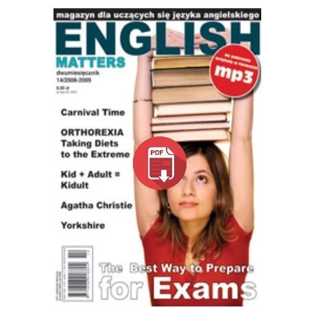 English Matters 14/2002009 Wersja Elektroniczna