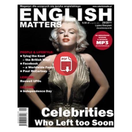 English Matters 29/2011 Wersja elektroniczna