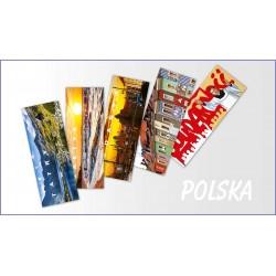 Zakładki Polska 5 sztuk