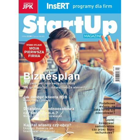 StartUp Magazine Moja Pierwsza Firma