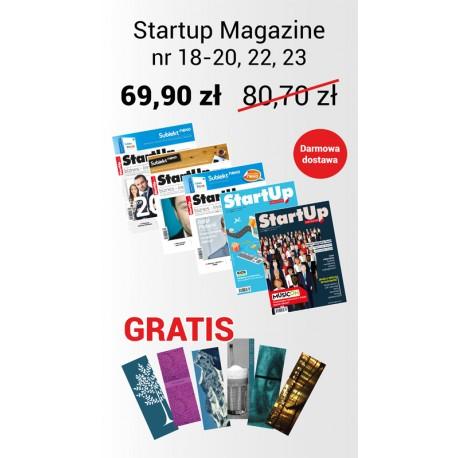 Promocyjny pakiet StartUp Magazine