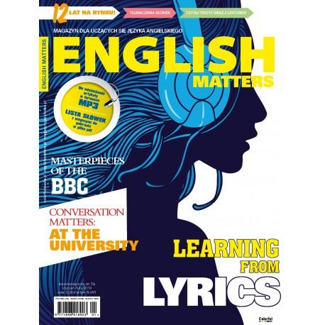 English Matters nr 74